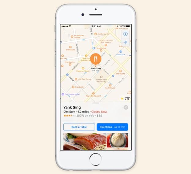 Apple Map ใหม่มีรายละเอียดเพิ่มขึ้น