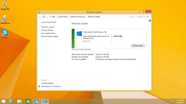 บริการอัปเกรดเป็น Windows 10 แบบไม่มีค่าใช้จ่ายจะสิ้นสุดลงในวันที่ 29 กรกฎาคมนี้แล้ว