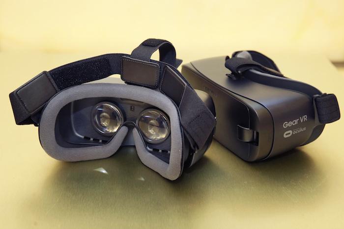 อุปกรณ์สวมศีรษะเพื่อชมภาพ VR รุ่นล่าสุดของซัมซุง สามารถใช้งานกับ Galaxy Note7 ได้ดีขึ้นกว่าเดิม