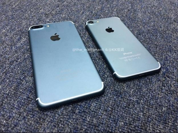 iPhone 7 กล้องเดี่ยวหน้าจอเล็กกว่า iPhone 7 Plus ที่มีกล้องคู่บนหน้าจอใหญ่กว่า