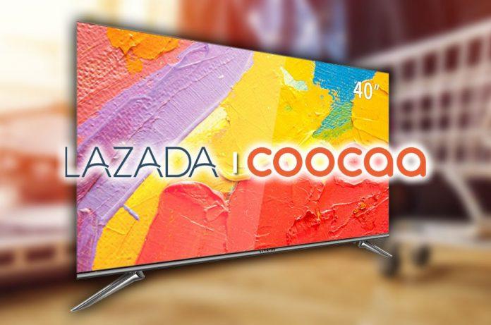 """""""Coocaa"""" แบรนด์ทีวี จีน เมินออฟไลน์ จับมือ """"ลาซาด้า"""" ขาย"""