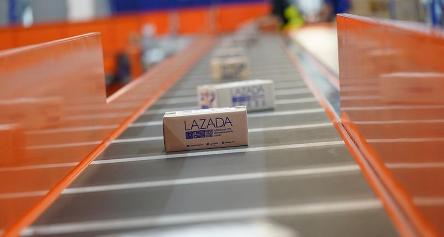 ศูนย์คัดแยกสินค้า Lazada