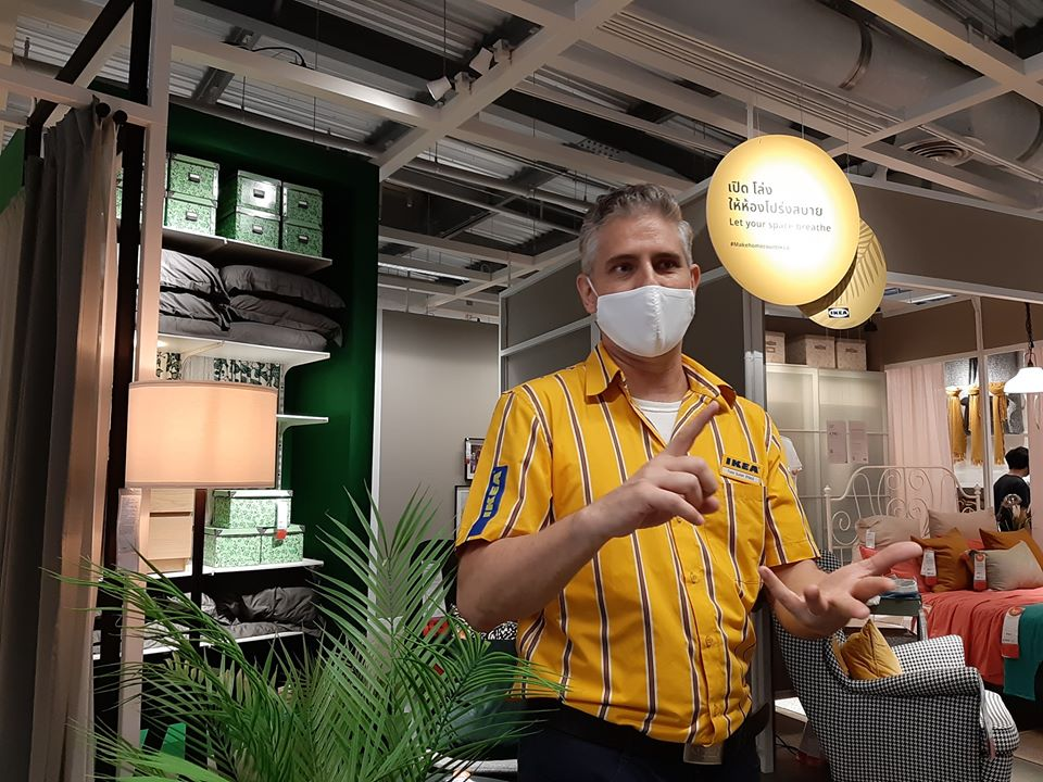 ทอม ซูเทอร์ ผู้จัดการสโตร์ อิเกีย บางใหญ่