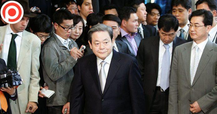 ลี คุน-ฮี ประธานซัมซุง