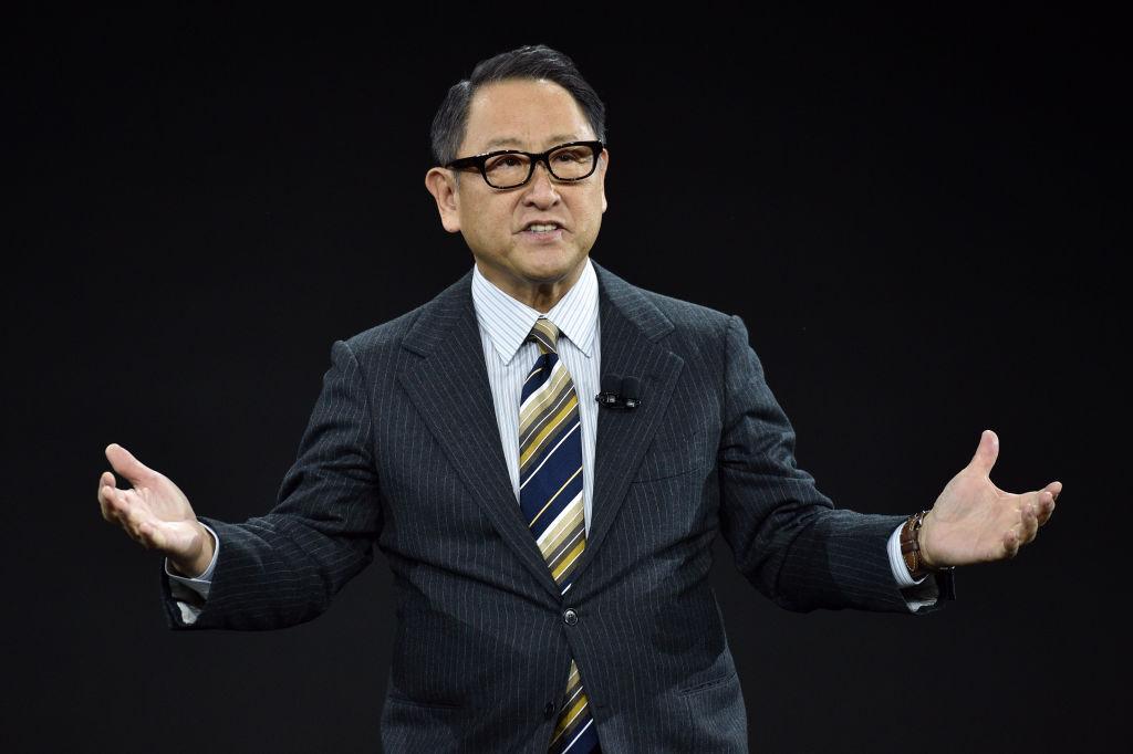Toyota CEO Akio Toyoda