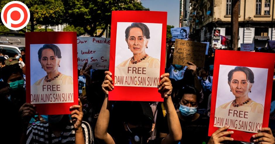 Myanmar aung san suu kyi nld อองซานซูจี