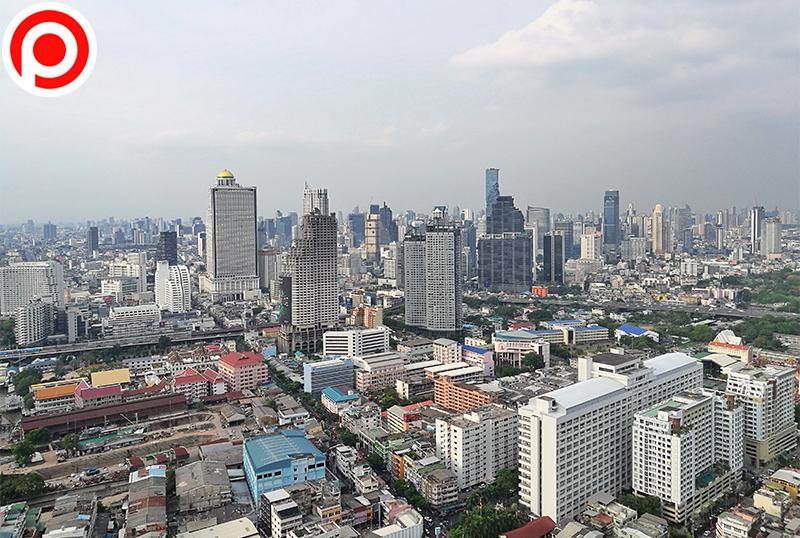 ภาพมุมสูง กรุงเทพฯ